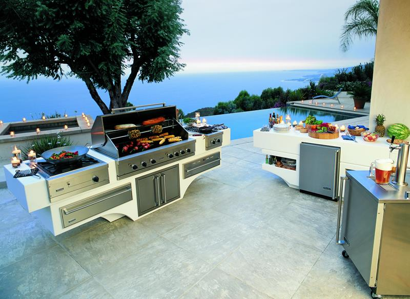 47 Outdoor Kitchen Designs and Ideas-17