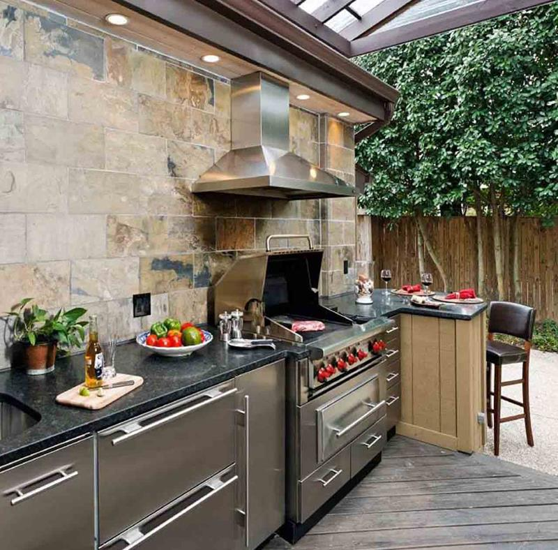 47 Outdoor Kitchen Designs and Ideas-24