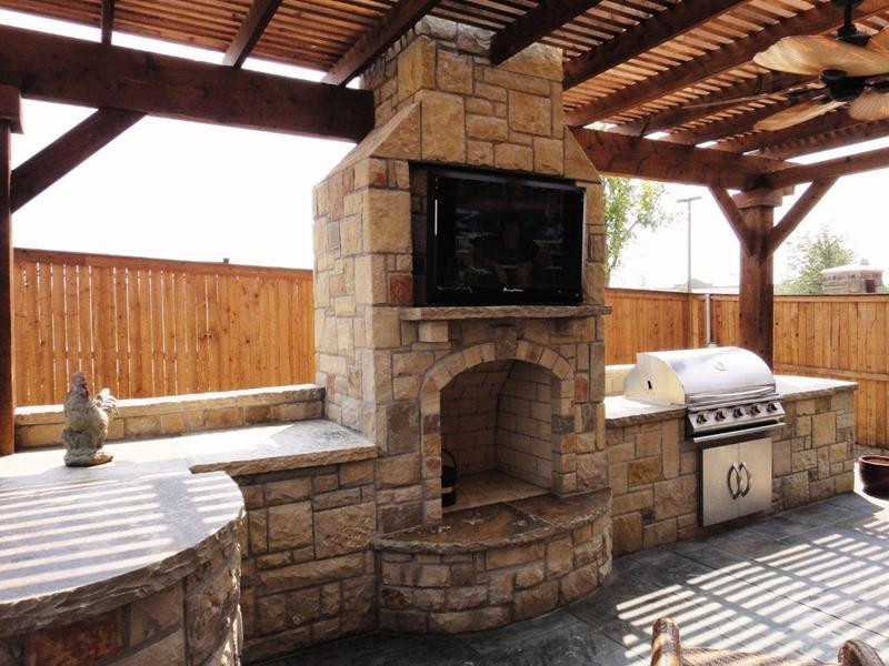 47 Outdoor Kitchen Designs and Ideas-31