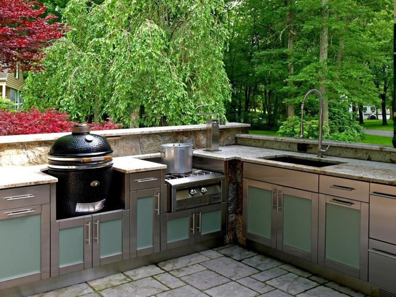 47 Outdoor Kitchen Designs and Ideas-32