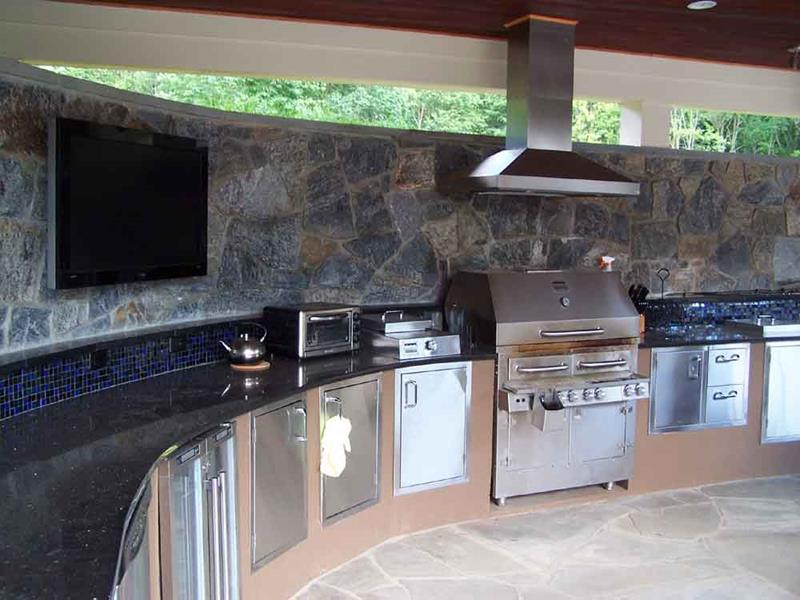47 Outdoor Kitchen Designs and Ideas-33