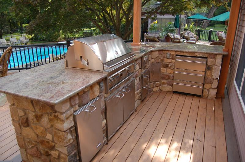 47 Outdoor Kitchen Designs and Ideas-43