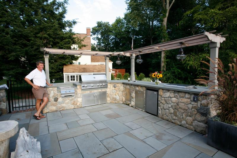 47 Outdoor Kitchen Designs and Ideas-47