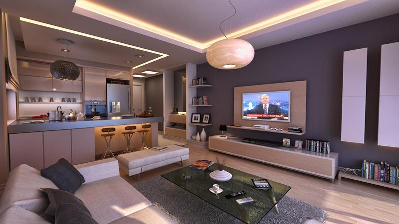 50 Ideas For Modern Living Room Design-26