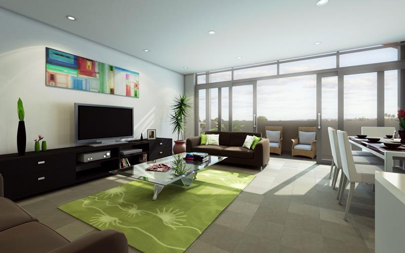 50 Ideas For Modern Living Room Design-27