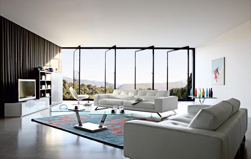 50 Ideas For Modern Living Room Design-28