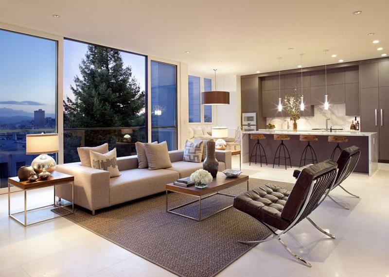 50 Ideas For Modern Living Room Design-42