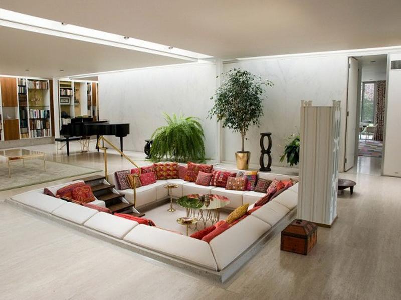 50 Ideas For Modern Living Room Design-43