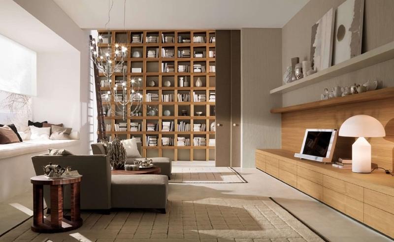 50 Ideas For Modern Living Room Design-44