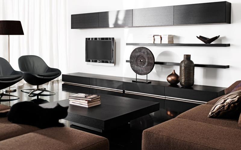 50 Ideas For Modern Living Room Design-47
