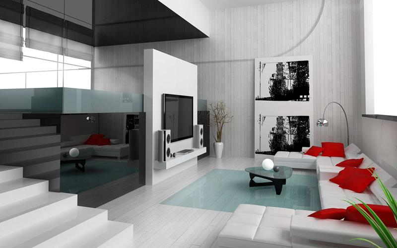 50 Ideas For Modern Living Room Design-6