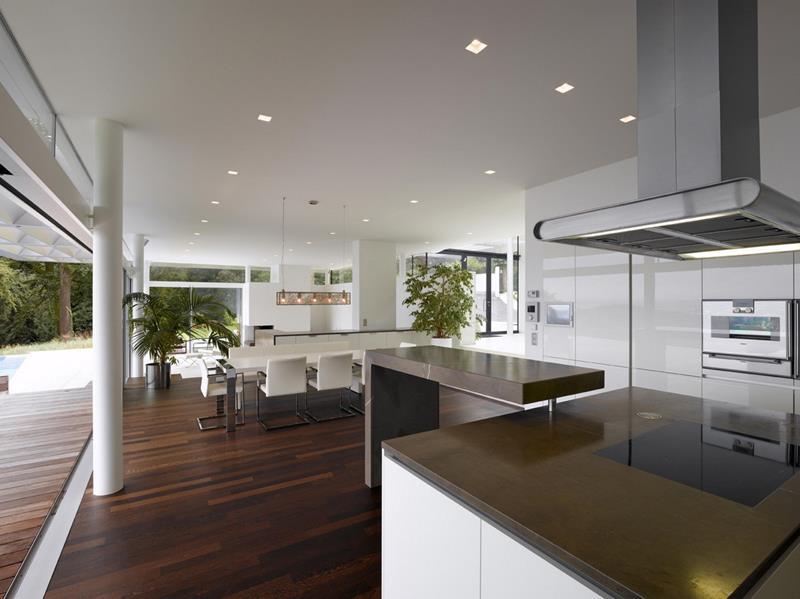 55 Luxury Contemporary Kitchen Designs-10