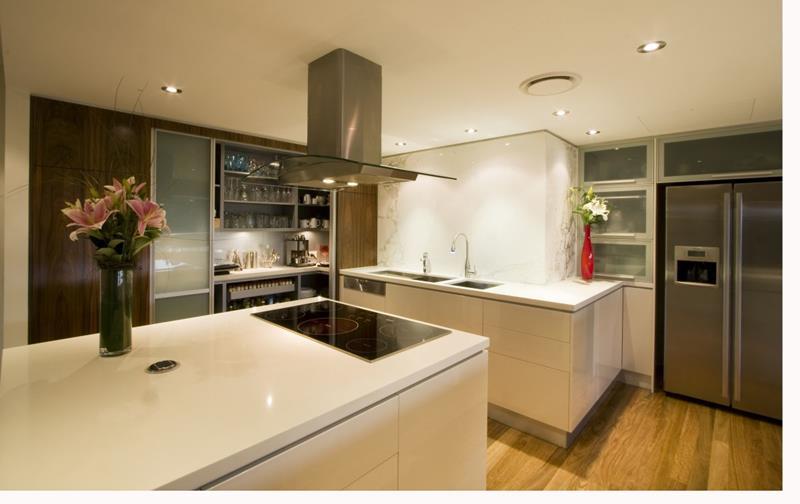 55 Luxury Contemporary Kitchen Designs-12