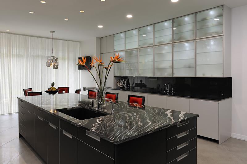55 Luxury Contemporary Kitchen Designs-15