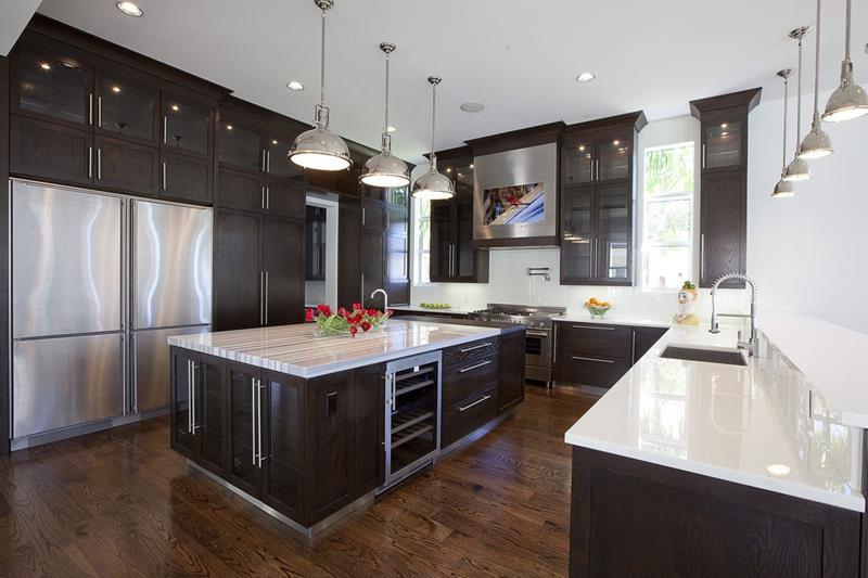 55 Luxury Contemporary Kitchen Designs-21