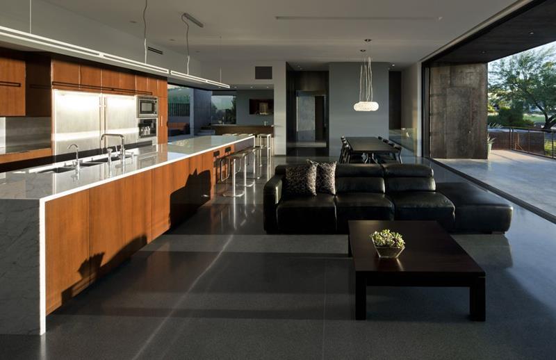 55 Luxury Contemporary Kitchen Designs-23