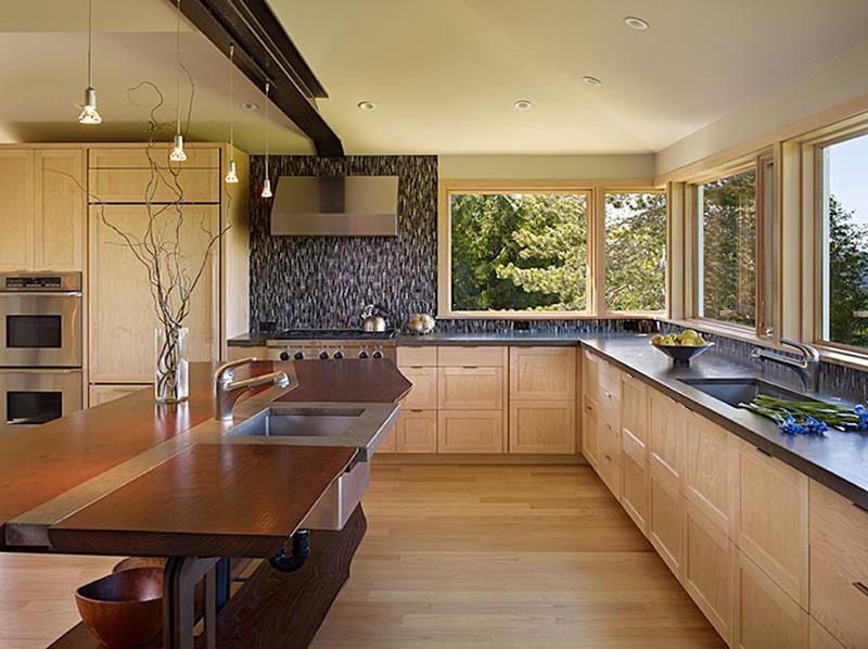 55 Luxury Contemporary Kitchen Designs-24