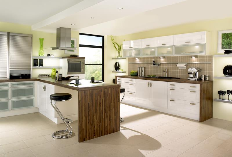 55 Luxury Contemporary Kitchen Designs-26