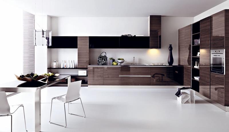 55 Luxury Contemporary Kitchen Designs-27