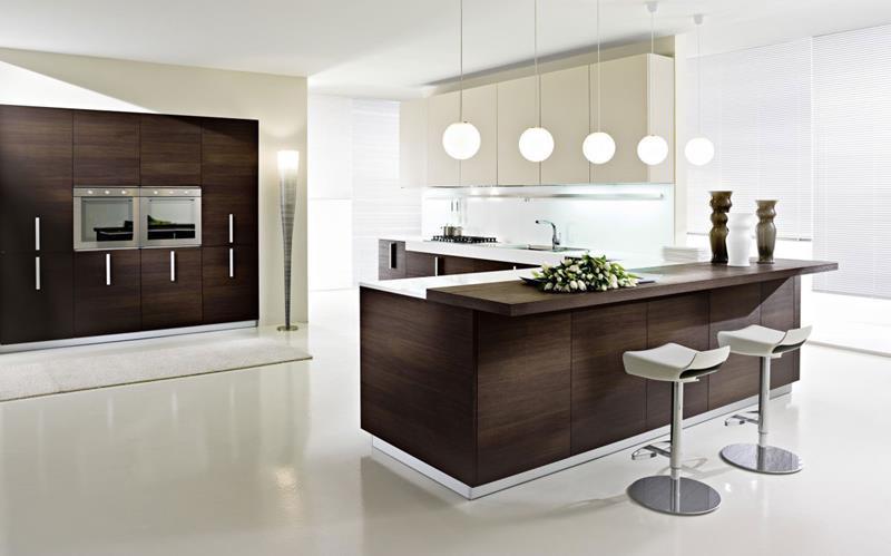 55 Luxury Contemporary Kitchen Designs-29
