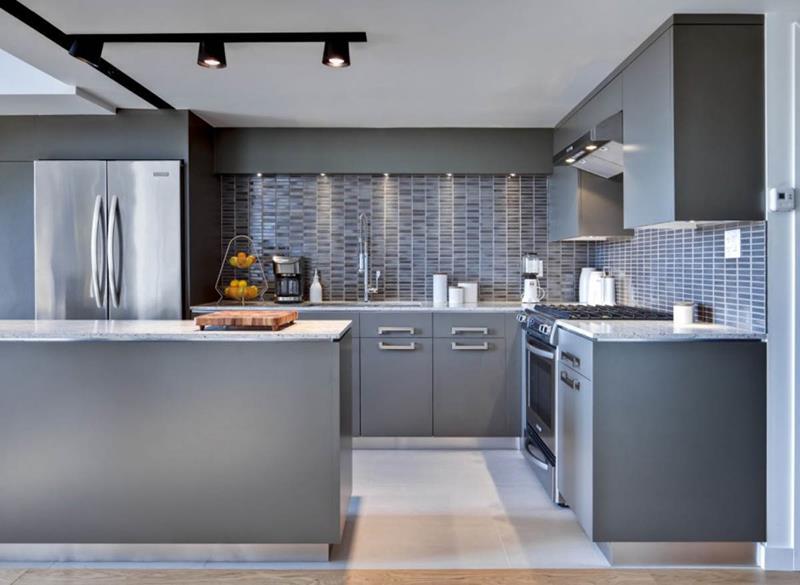 55 Luxury Contemporary Kitchen Designs-3
