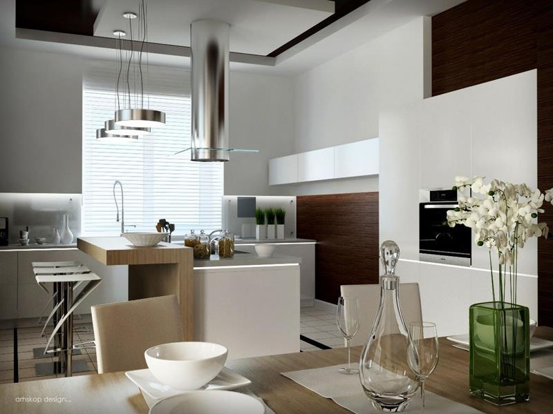 55 Luxury Contemporary Kitchen Designs-32