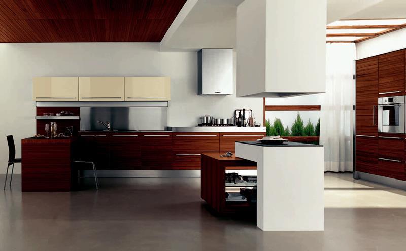 55 Luxury Contemporary Kitchen Designs-33