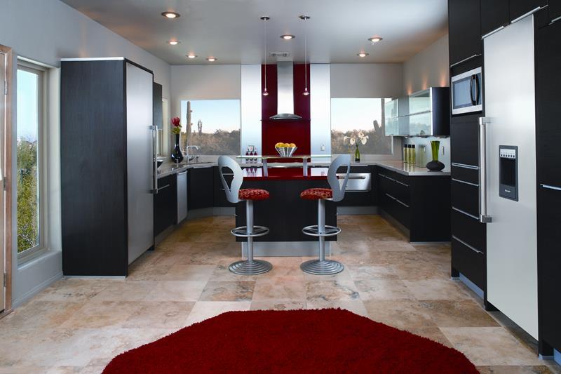 55 Luxury Contemporary Kitchen Designs-34