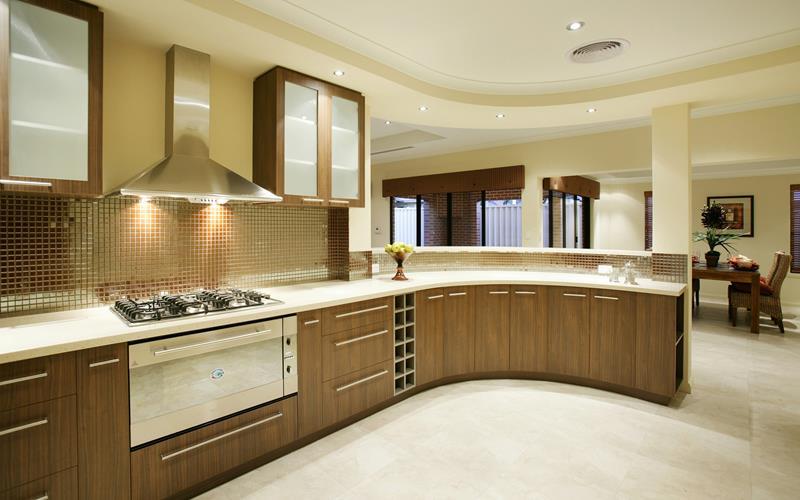 55 Luxury Contemporary Kitchen Designs-36