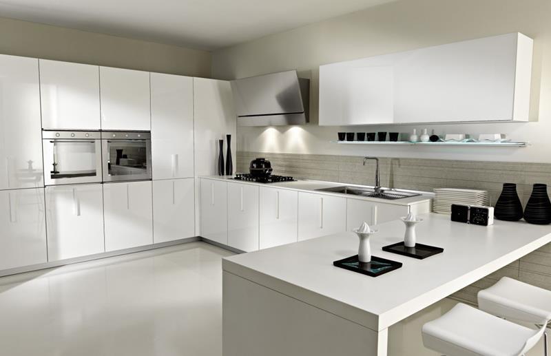 55 Luxury Contemporary Kitchen Designs-37