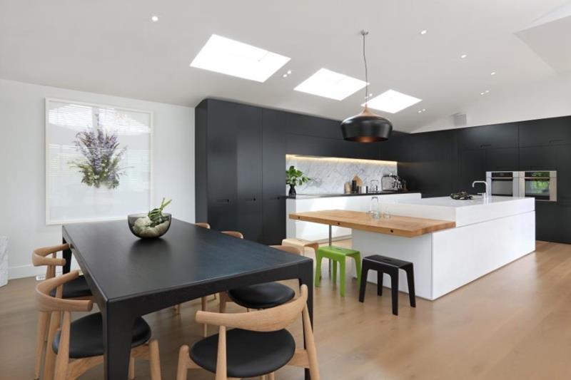 55 Luxury Contemporary Kitchen Designs-38