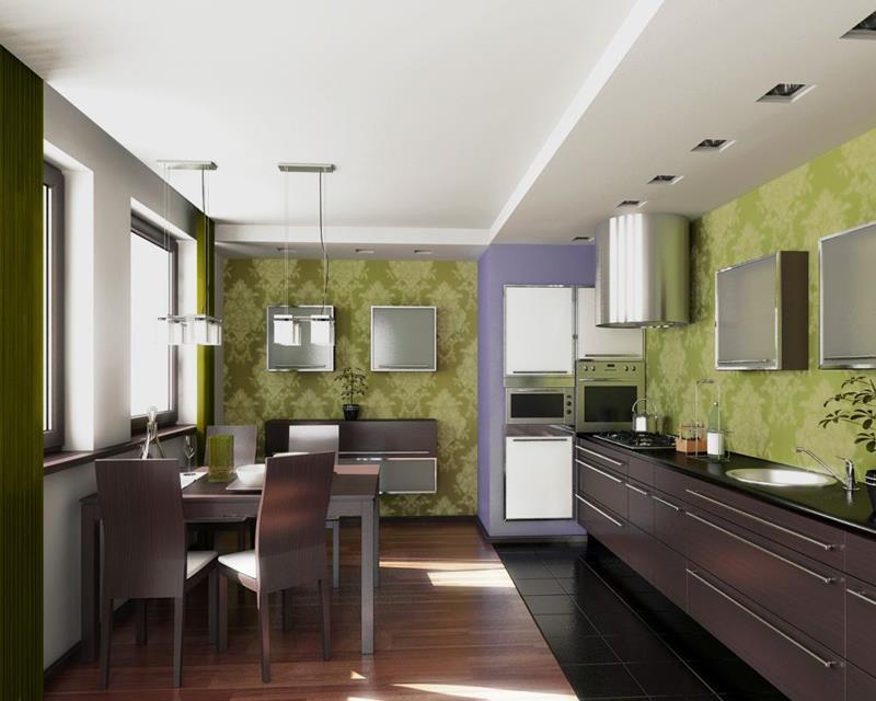 55 Luxury Contemporary Kitchen Designs-43