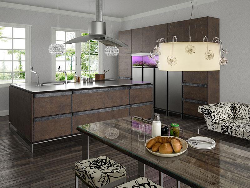 55 Luxury Contemporary Kitchen Designs-45