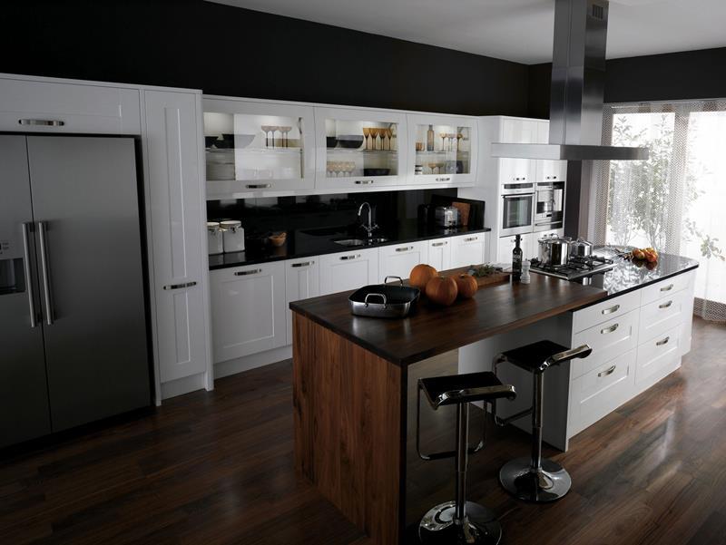 55 Luxury Contemporary Kitchen Designs-47