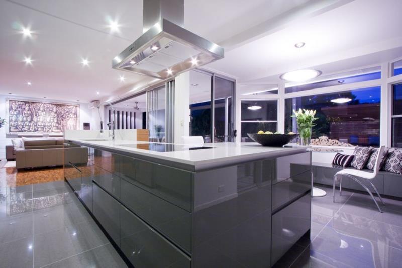 55 Luxury Contemporary Kitchen Designs-48