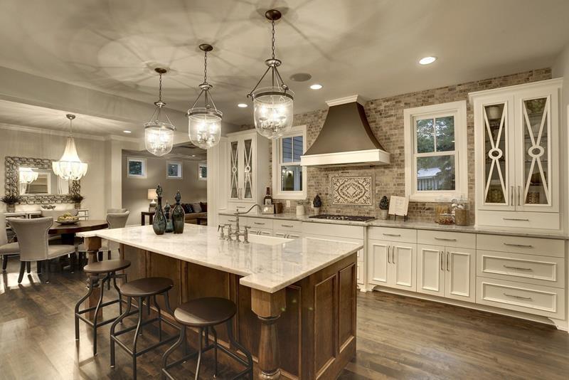 55 Luxury Contemporary Kitchen Designs-54