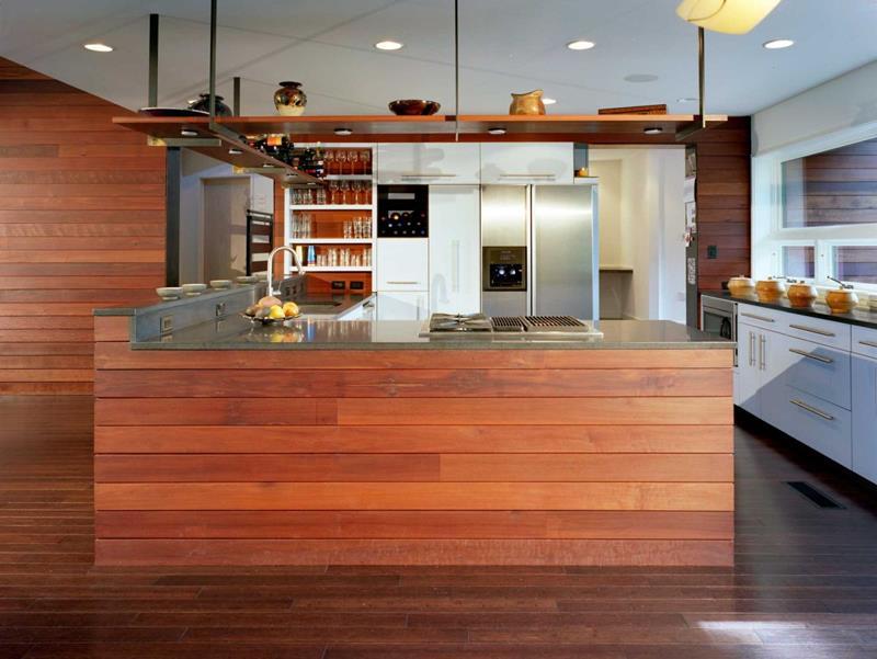 55 Luxury Contemporary Kitchen Designs-55