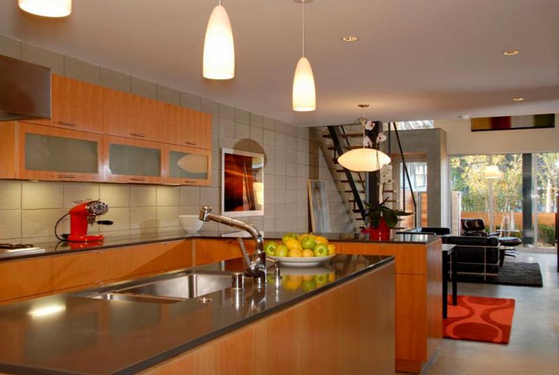55 Luxury Contemporary Kitchen Designs-6
