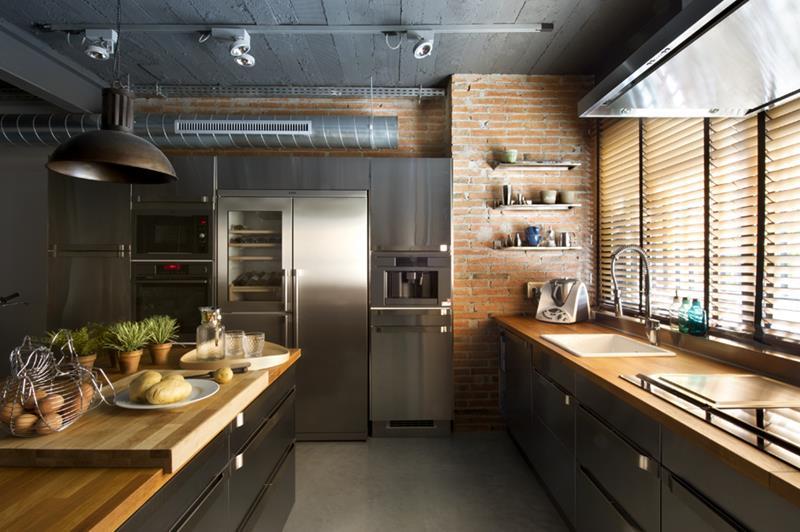 55 Luxury Contemporary Kitchen Designs-8
