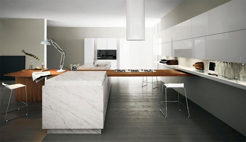 55 Luxury Contemporary Kitchen Designs-9