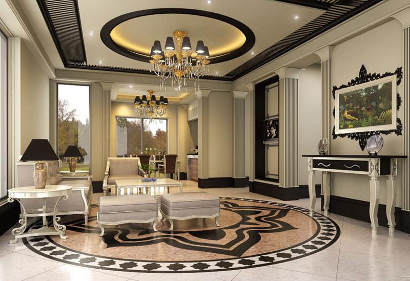 68 Interior Designs For Grand Living Rooms-1