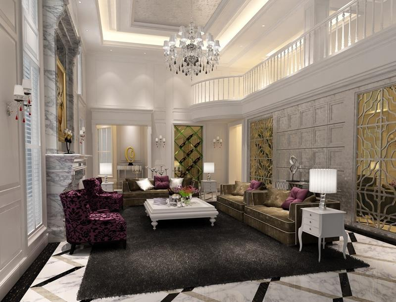68 Interior Designs For Grand Living Rooms-10