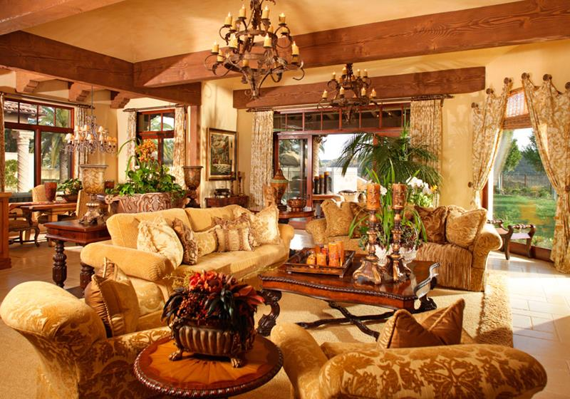 68 Interior Designs For Grand Living Rooms-17