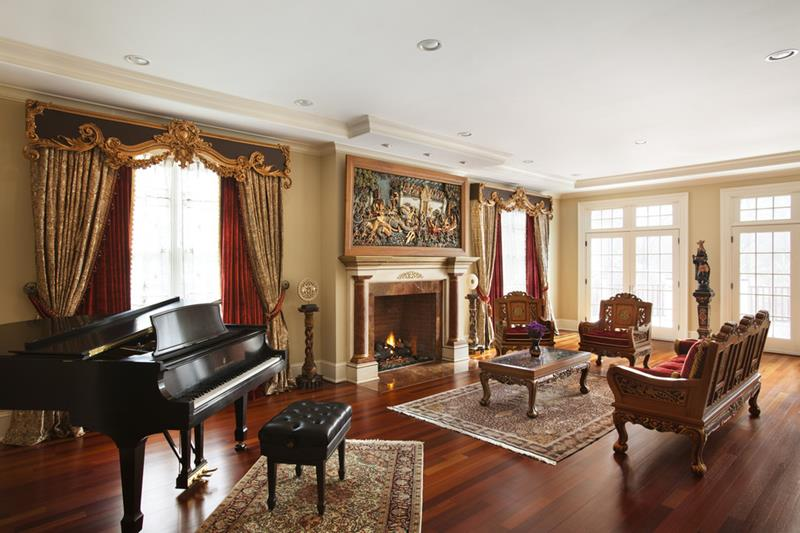 68 Interior Designs For Grand Living Rooms-22