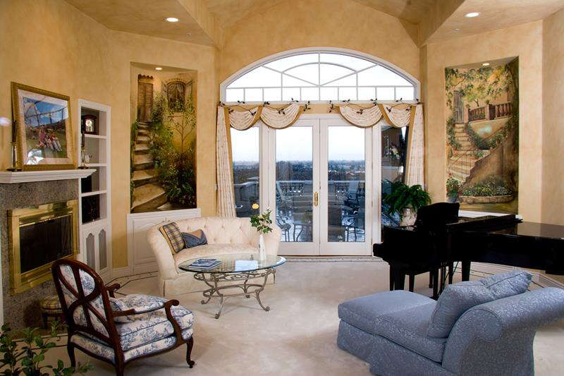 68 Interior Designs For Grand Living Rooms-23