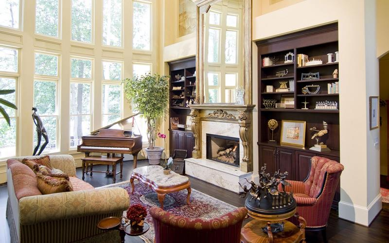68 Interior Designs For Grand Living Rooms-32