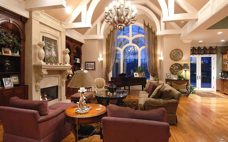 68 Interior Designs For Grand Living Rooms-38