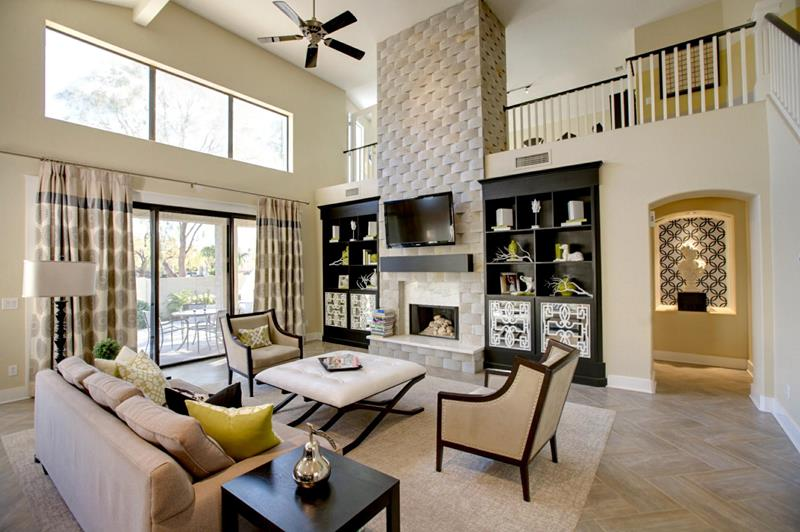 68 Interior Designs For Grand Living Rooms-39
