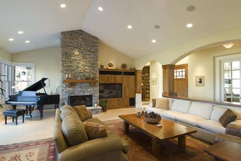 68 Interior Designs For Grand Living Rooms-40