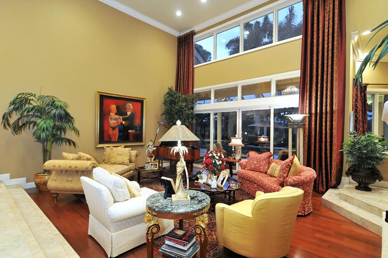 68 Interior Designs For Grand Living Rooms-41